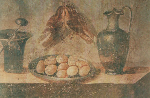 Mosaico romano (immagine tratta da http://lacucinadicalycanthus.net/wp-content/uploads/2010/03/minne.jpg)