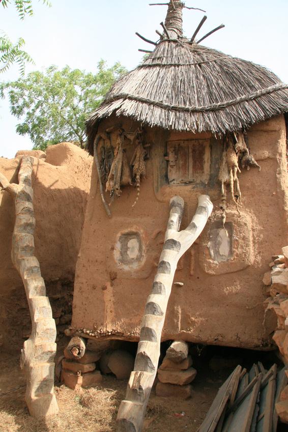 Granai per la conservazione del fonio in Mali © jean claude braun – Fotolia.com