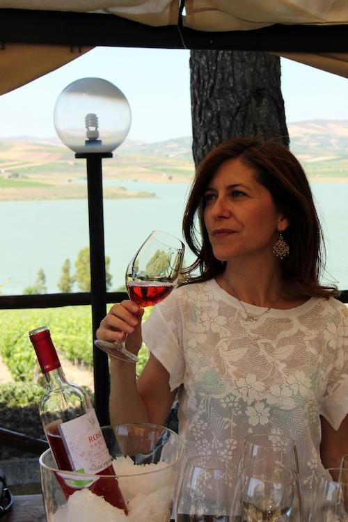 Valeria Sortino Di Prima ( e il Rosé del Lago)