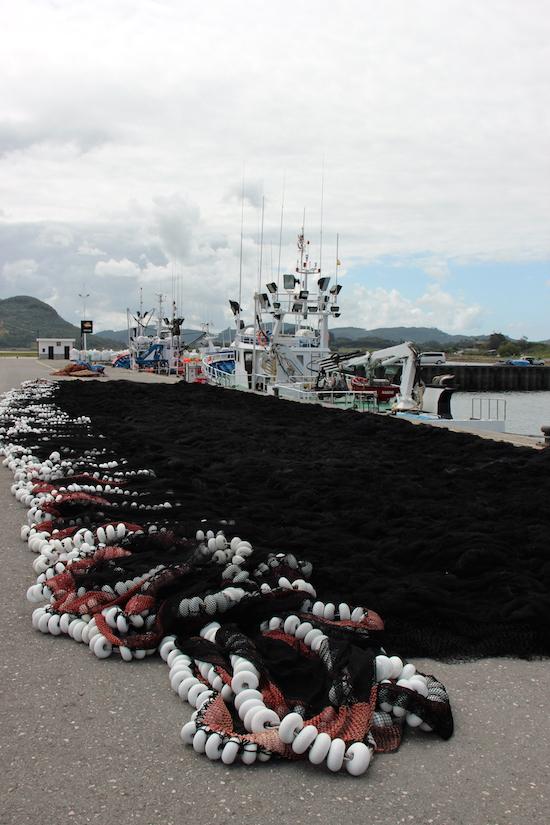 Dopo la pesca, nel porto di Santoña