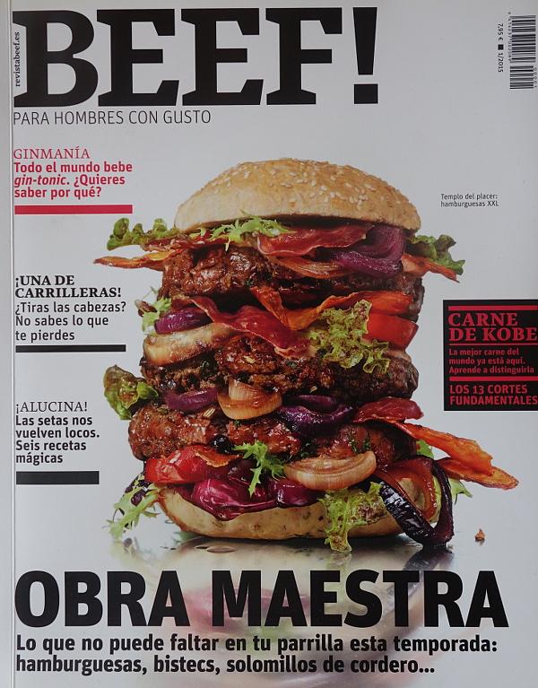 Beef! para hombres con gusto, N° 1