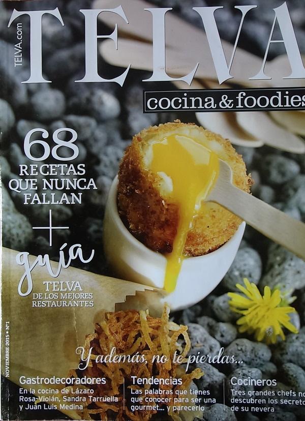 Telva, cocina & foodies, n°1