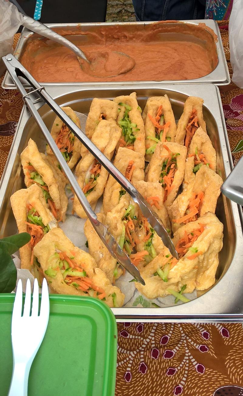 Malesia 1 - Tahu Sumbat Tramezzini tofu
