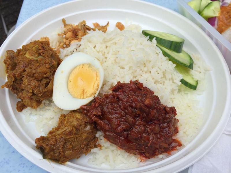 Malesia 2 - Nasi lemak