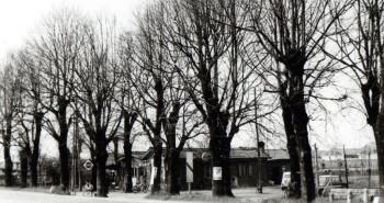 La vecchia baracca dove c'era l'osteria I Confini a Faenza