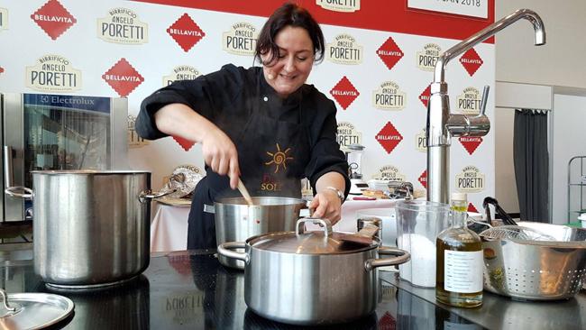 Nicoletta Tavella de La Cucina del Sole di Amsterdam