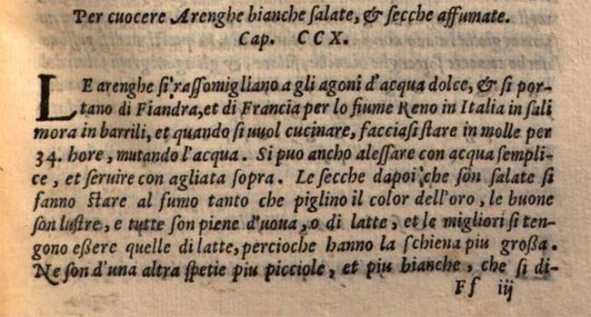 Dal libro di Bartolomeo Scappi