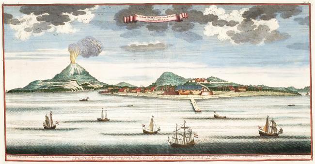 Le isole Banda, con Banda Neira