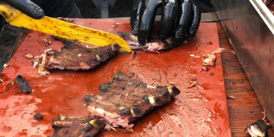 Costine di vitella con rub al rum - Foto di Antonella Barbella