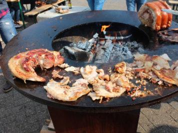 Pancetta di maiale sull'Ofyr
