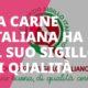 La carne italiana ha il suo sigillo di qualità